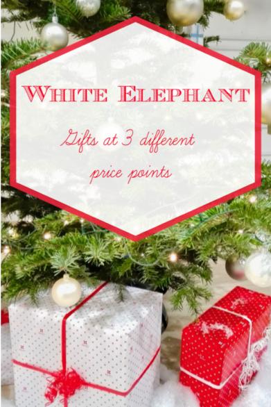 Creative White Elephant Gift Ideas Pretty Advantageous